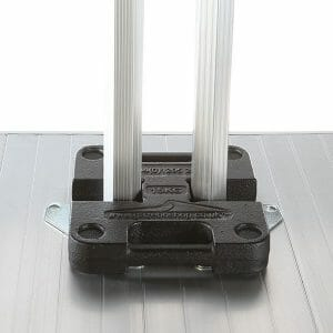 Leg Weights: 20kg H Shaped Steel
