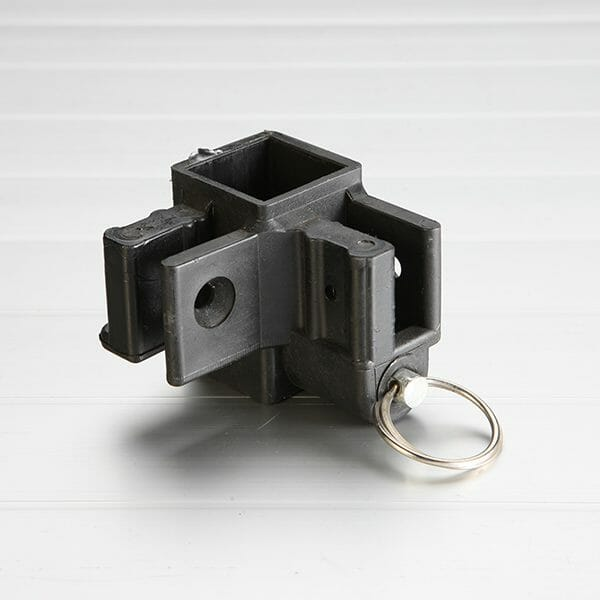 Two Way Sliding Leg Truss Bar Connector for Classic Steel 30 Series